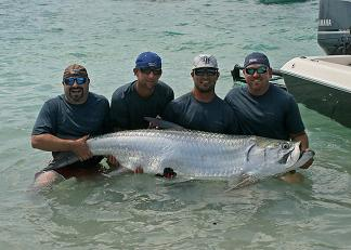 boca grandes professional tarpon tournament series ptts team steady action charters.